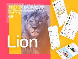 Lion 视界APP Conceptual draft