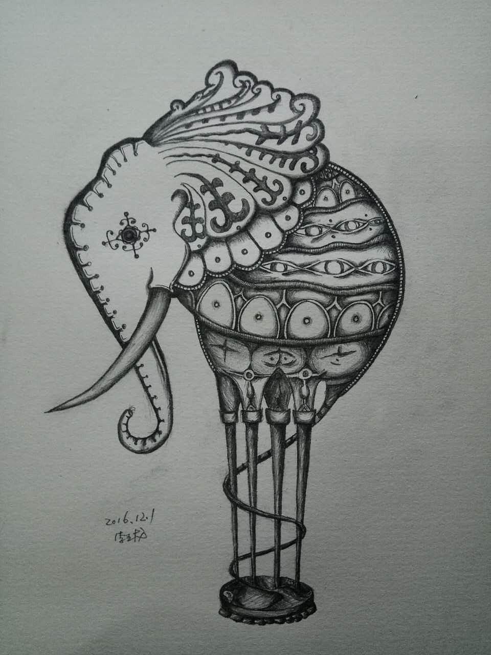 儿童画 简笔画 手绘 线稿 960_1280 竖版 竖屏