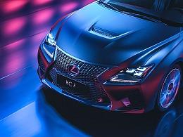 CGI摄影 Lexus RC F