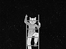 日画1301~1309 我害怕这没有尽头的梯子