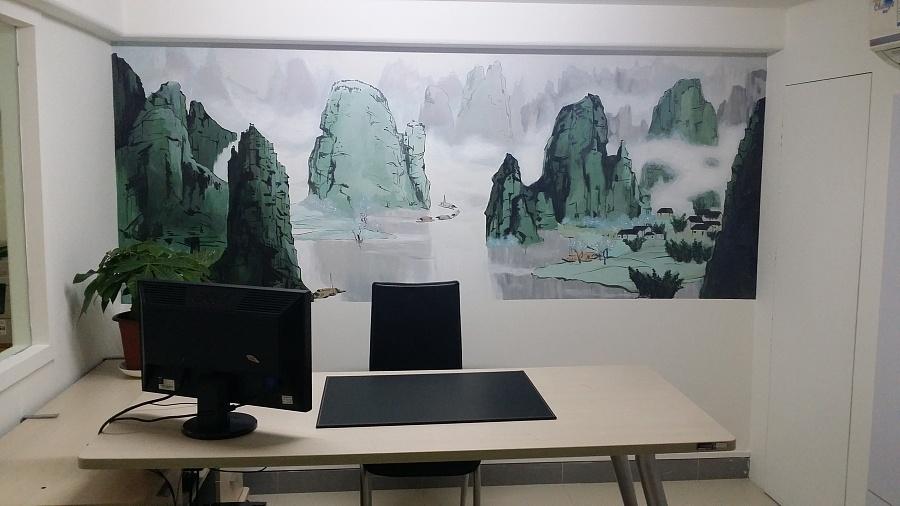 墙绘涂鸦,手绘墙案例 涂鸦/潮流 插画 mzc1987619