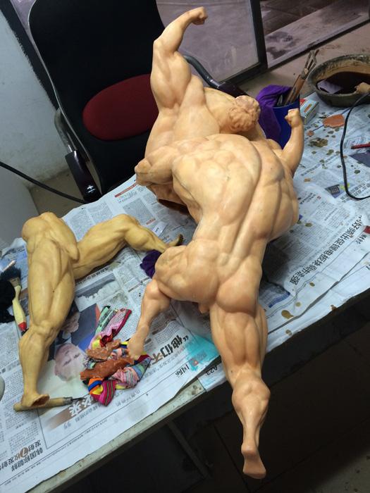 雕塑《小人物》及制作过程|雕塑|纯艺术|hosanna