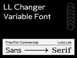 LL Changer   免费西文可变字体