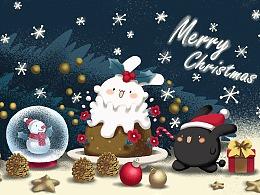 嘉嘉精灵圣诞节壁纸
