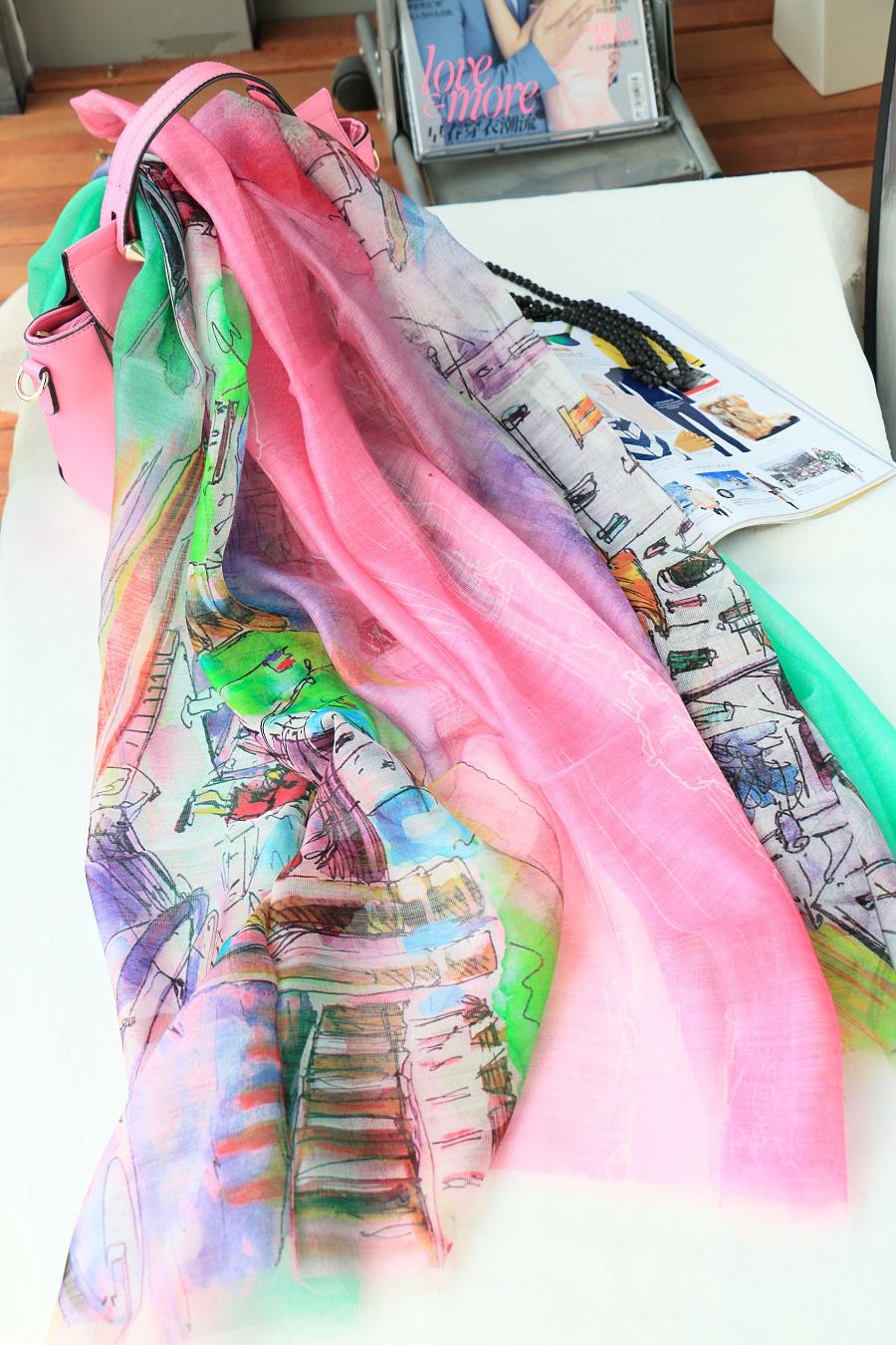 丝巾折叠玫瑰图解