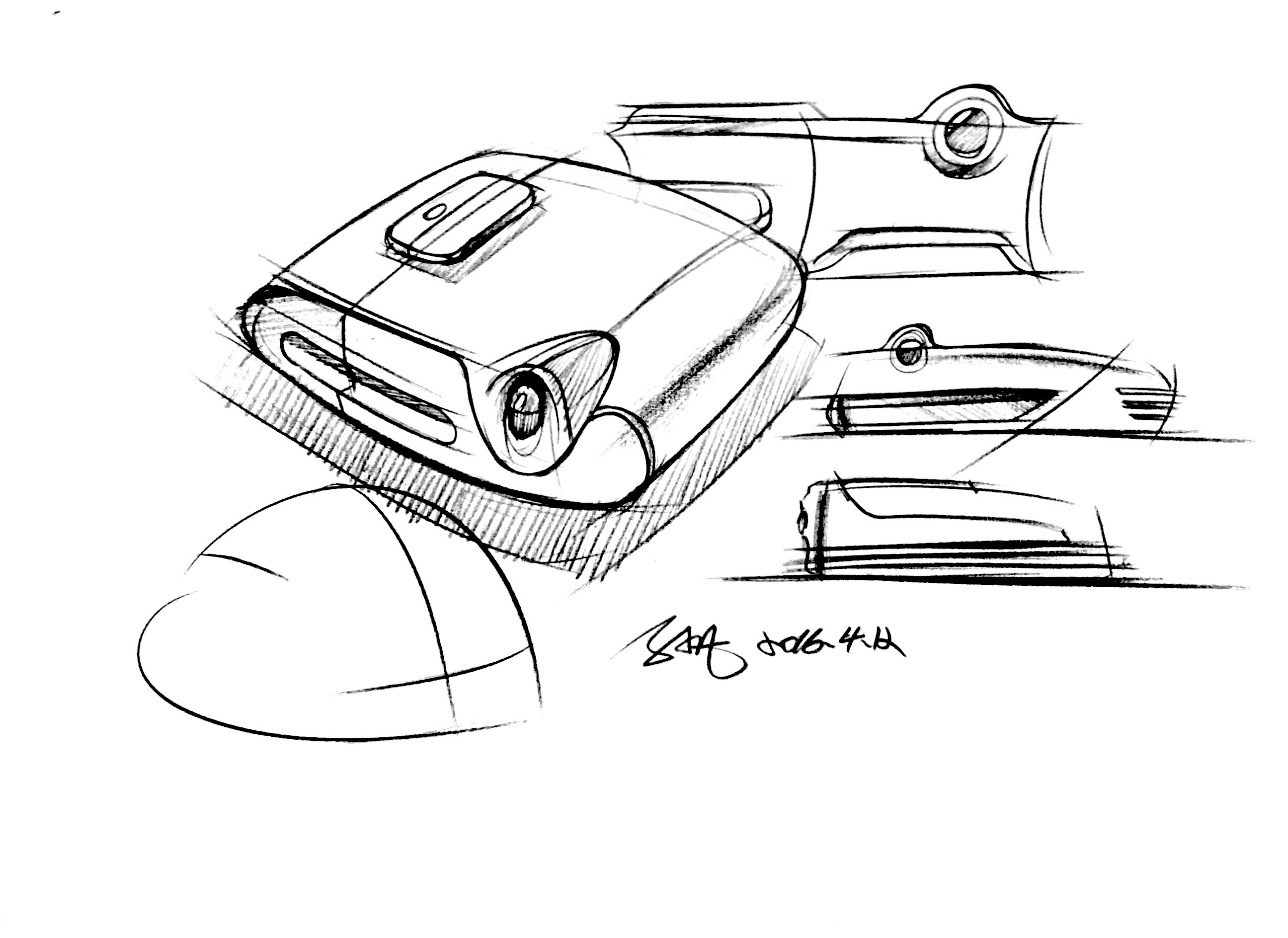 工业设计手绘-每日一画