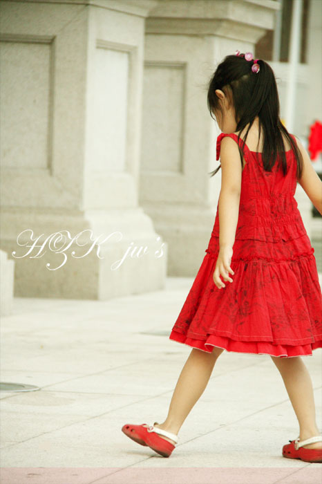 旧片重传02红裙子小女孩|人像|摄影|arabesk
