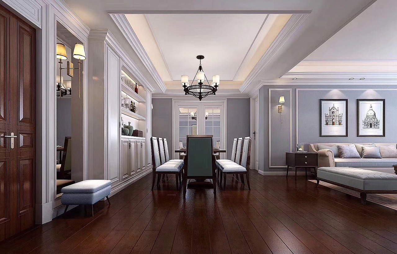 美式风格别墅图片