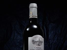 【田瑞冰摄影DEAN】中级庄红酒 wine MEDOC2013