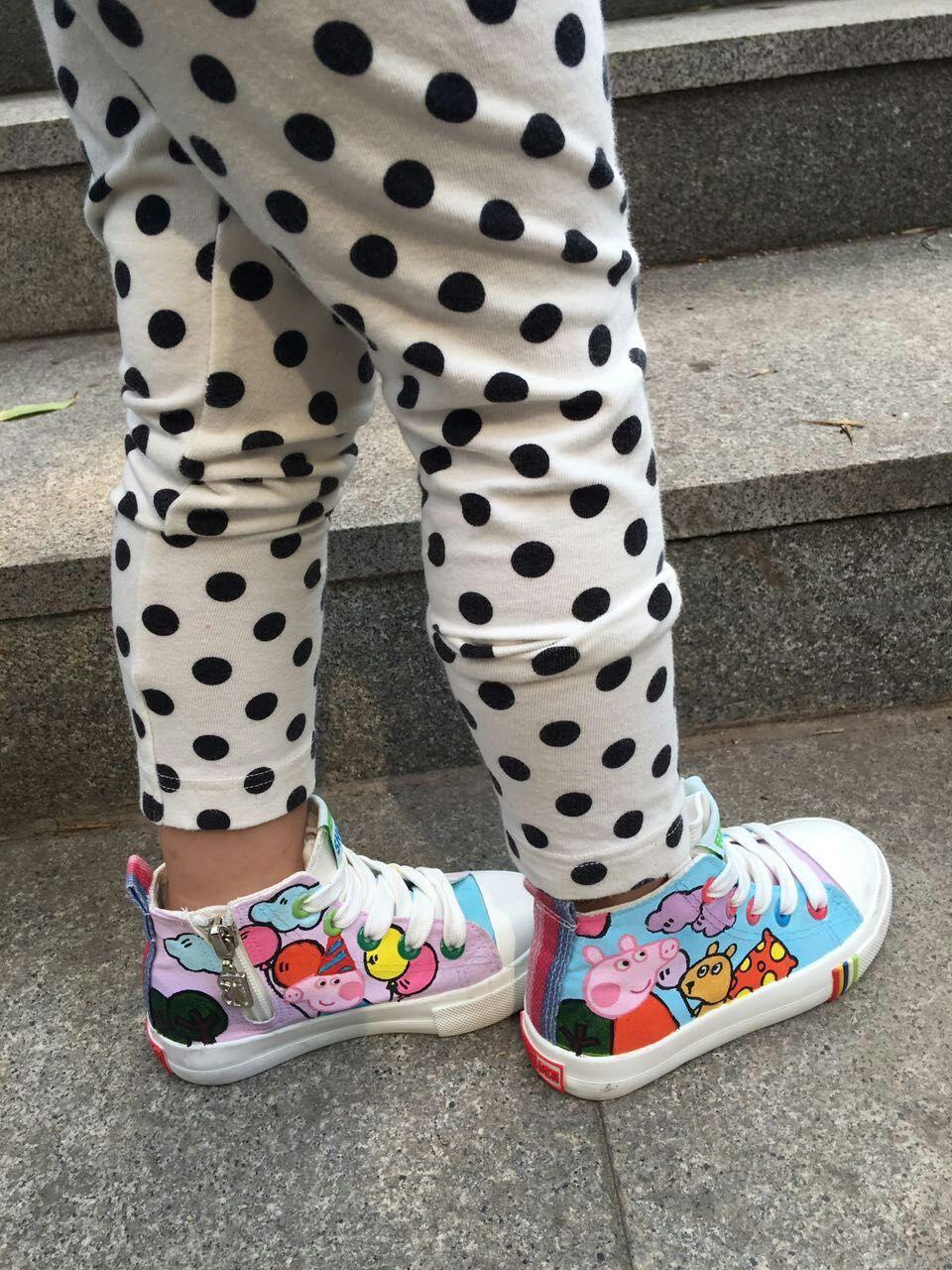 我的手绘鞋们