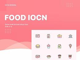 FOOD IOCN 线性图标设计