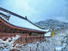 有一种雪境叫杭州的雪