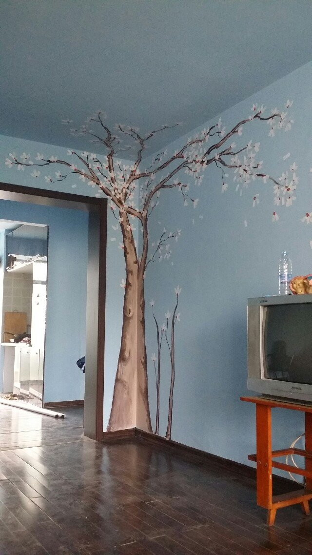 艺群手绘墙|墙绘/立体画|其他|279791946com