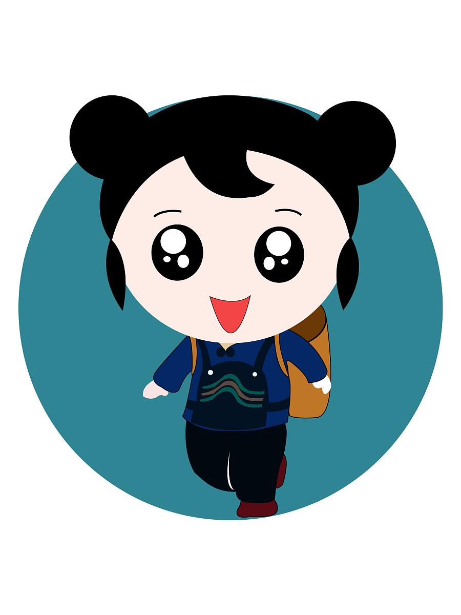 广西民族娃娃(重塑) 其他绘画 插画 qmeizi - 原