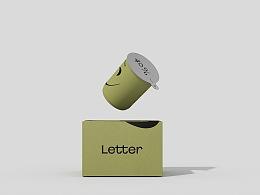 Letter 咖啡品牌标志及包装设计