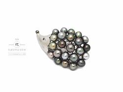 巴洛克异形珍珠,异形海水珍珠《刺猬》创作过程 欣赏