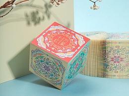 故宫 万紫千红便签纸砖,创意便利贴故宫博物院官方店