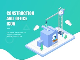 CONSTRUCTION  AND  OFFICE ICON