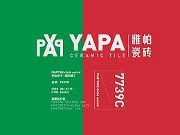Italy YAPA Tile brand design (commercial case)