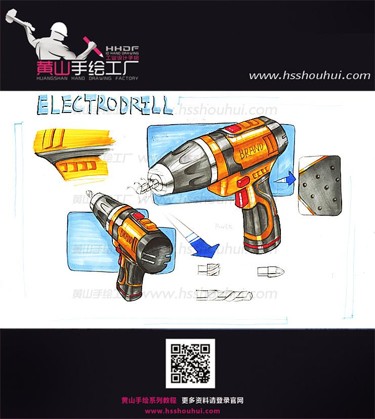 【工业设计,产品设计】工业设计考研手绘作品分享!design sketch图片