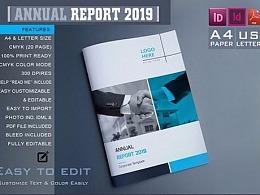 企业数据分析报告画册模板