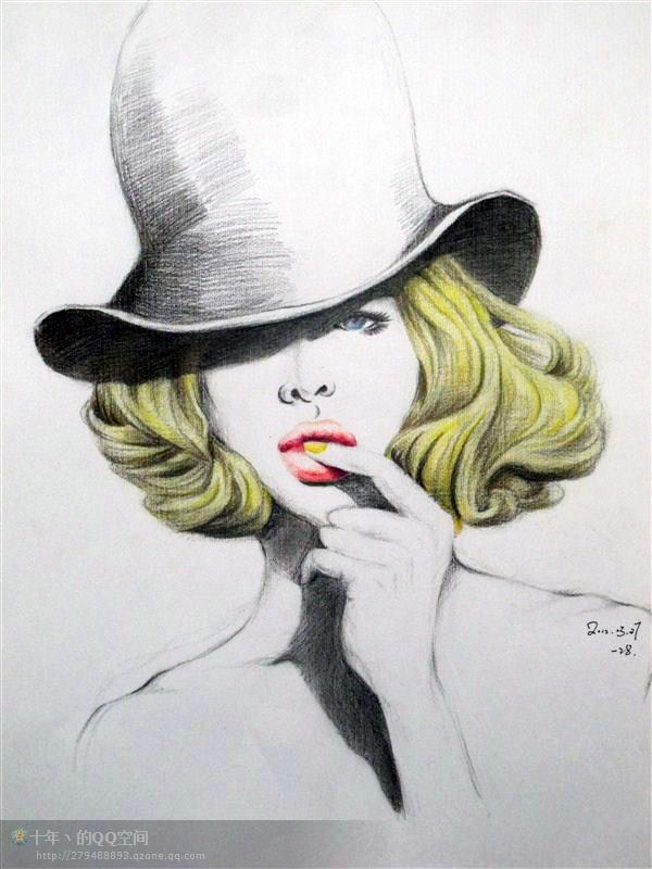 个人彩铅创作|纯艺术|彩铅|abomb - 原创作品 - 站酷