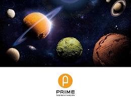 PRIME邮差冰淇淋蛋糕品牌设计
