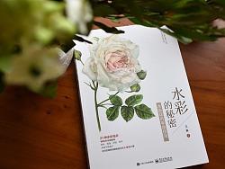 我的新书《水彩的秘密:水彩花卉手绘技法》