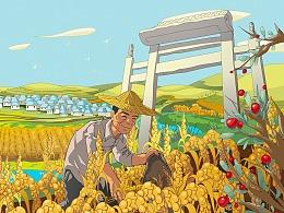Rich Millet包装插画