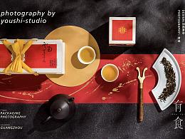 凤凰沱茶包装摄影