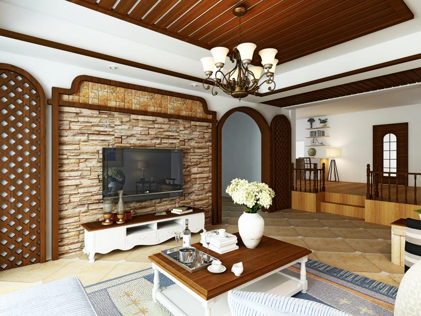 室内设计师LiQuan室内设计效果图鉴赏(入行一上海建筑设计艾轶峰图片