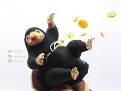 囍囍的羊毛毡 之 神奇动物招财嗅嗅
