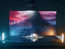 只要一台显示器,你也可以拍出创意好玩的视频照片