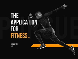 PURSUE-Application for fitness