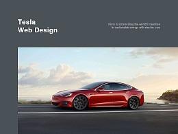 Tesla Web Redesign