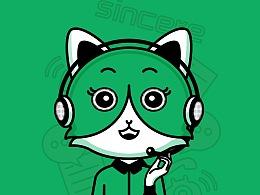 小动物卡通形象 | 活动海报 | 束今