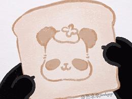 熊滚滚的零食美拍