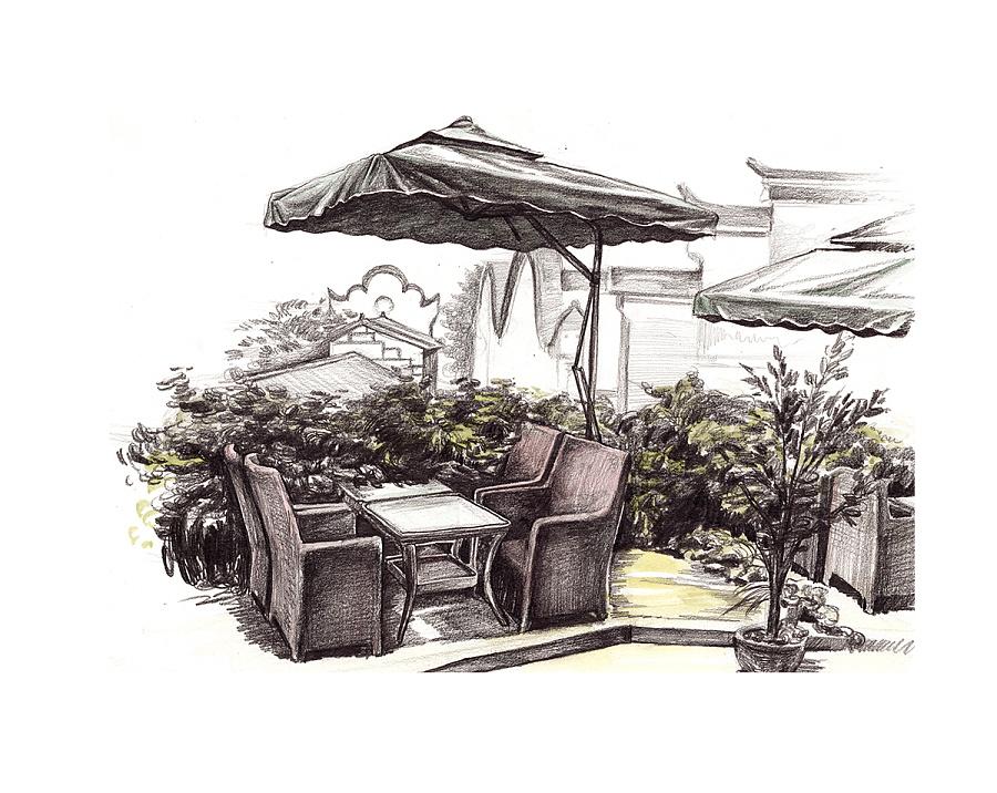 商业铅笔手绘插画|商业插画|插画|beacherzc