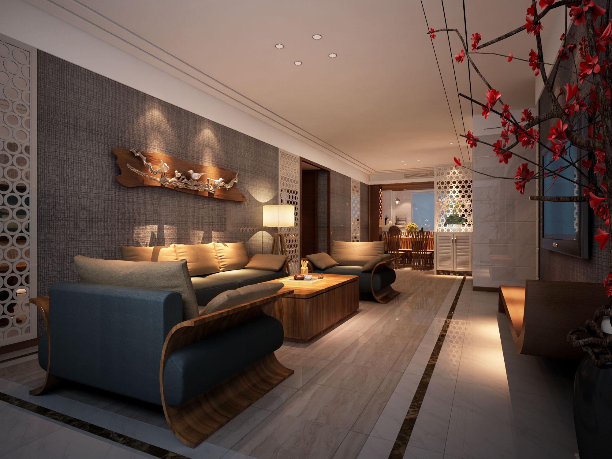 高端住宅设计 空间 室内设计 老白028 - 原创作品