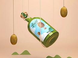 Fruiti-果汁包装设计