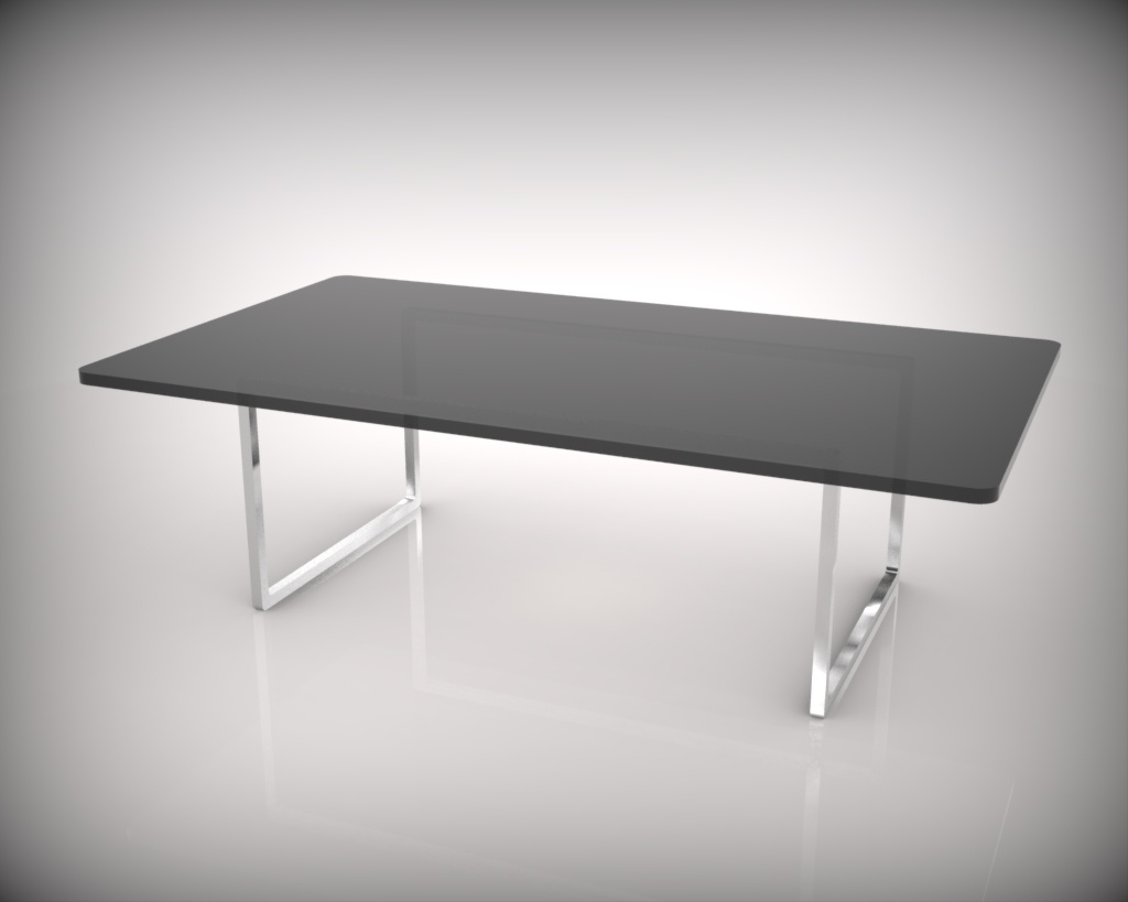 桌子手绘单体速写