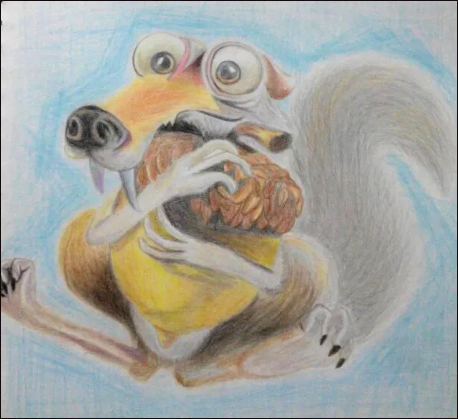彩铅手绘|插画|插画习作|做梦鹰 - 原创作品 - 站酷