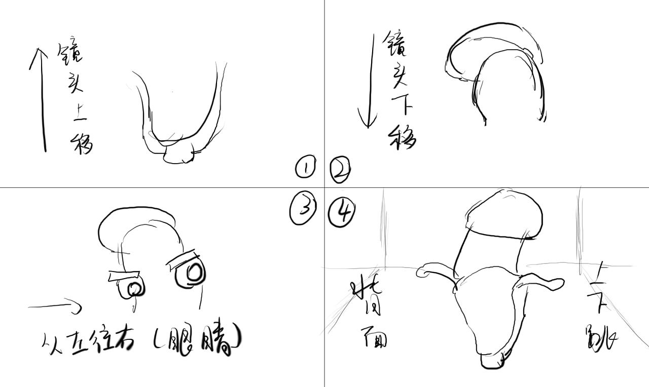 简笔画 设计图 手绘 线稿 1280_764
