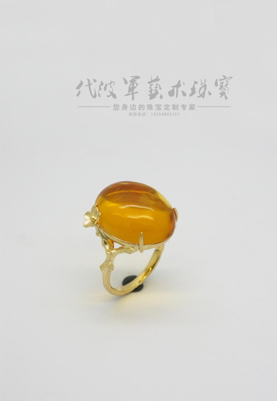 查看《代波军艺术珠宝定制-----蜜蜡就像黄昏的后花园》原图,原图尺寸:900x1303