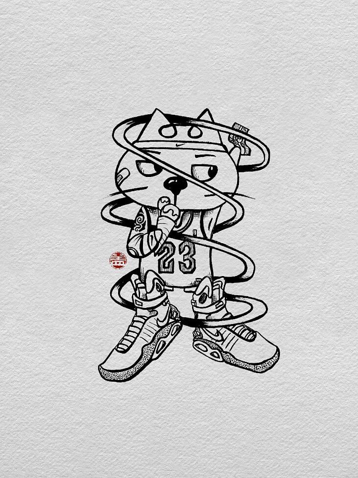 简单手绘|插画|涂鸦/潮流|孙悟盖 - 原创作品 - 站酷