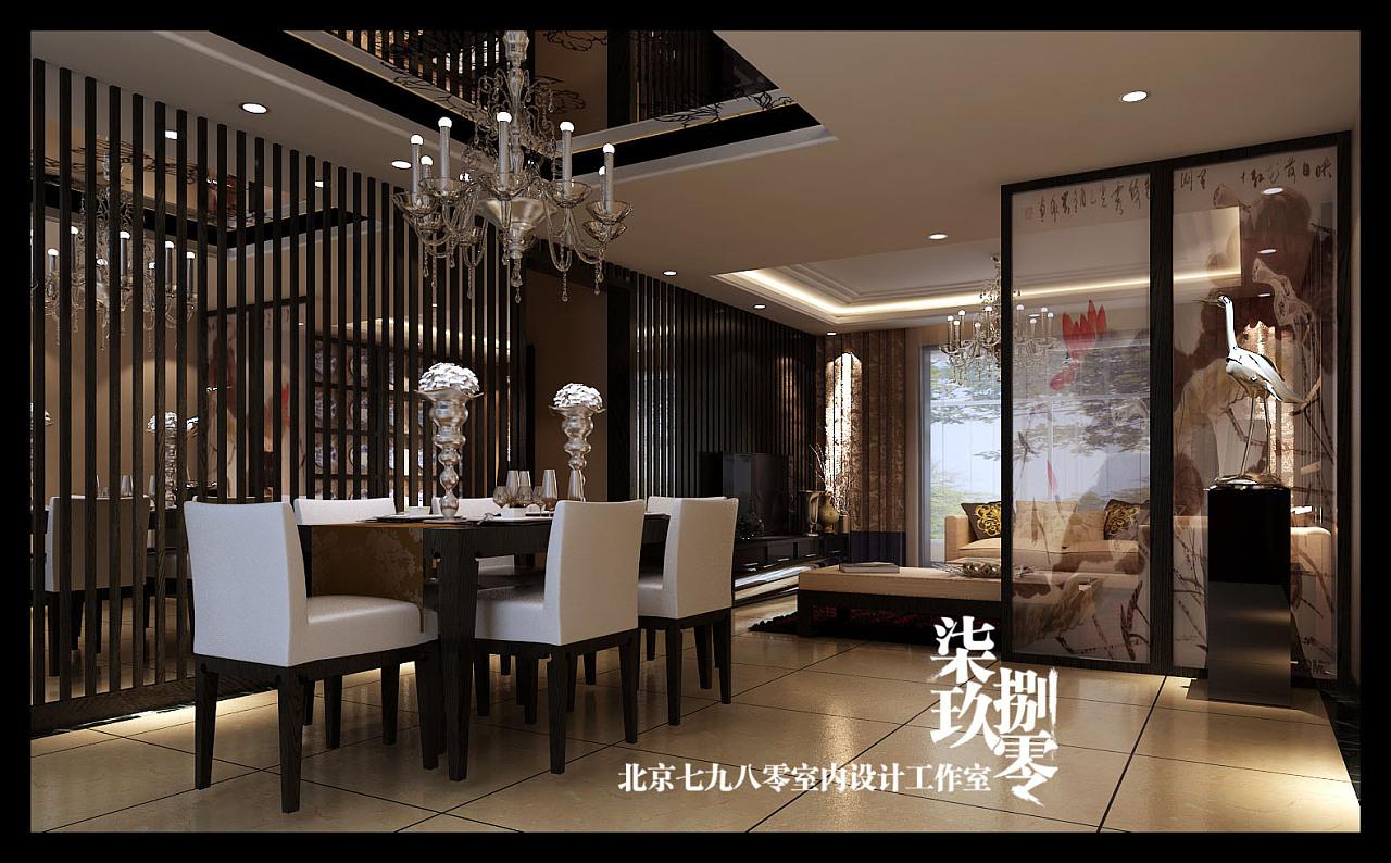 7980室内设计机构别墅设计——新中式风格(3)图片