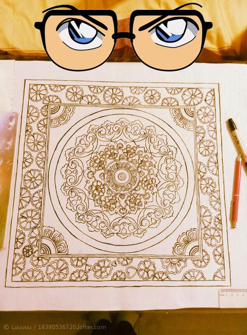地毯素材手绘贴图