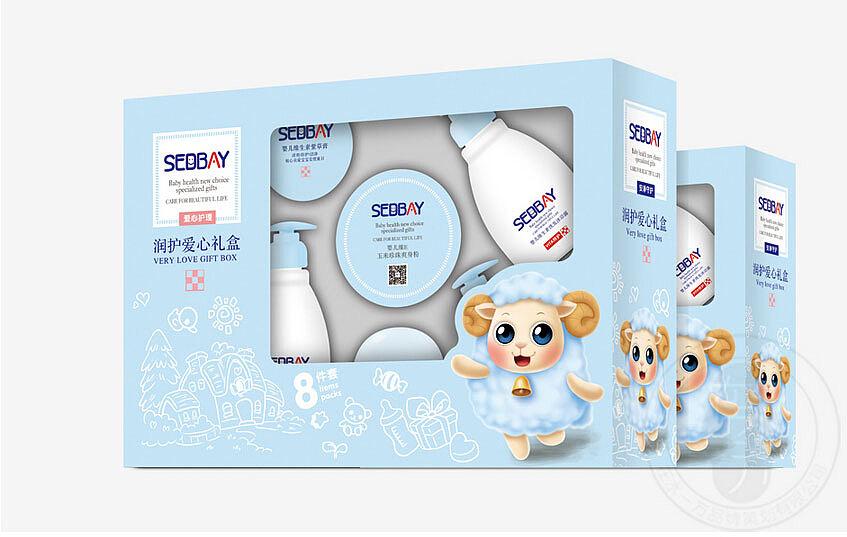童产品包装_蕴爱儿童-婴童洗护用品包装设计-在水一方品牌策划