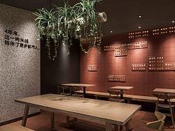 餐厅设计丨云味馆,陪伴了1200万城市人的米线店