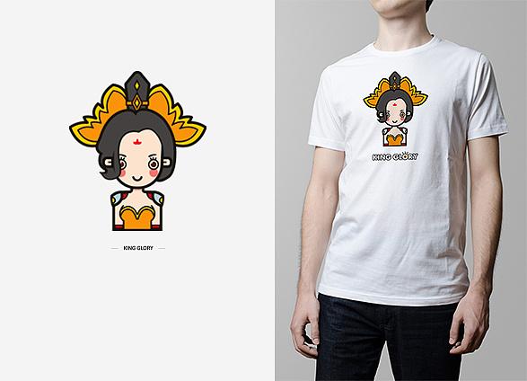 t恤图案设计_画在衣服上的手绘图案图片